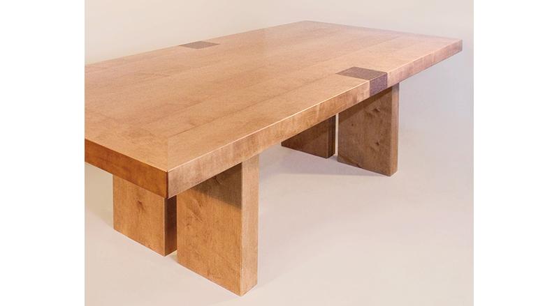 tisch aus ahorn schreinerei prinzing. Black Bedroom Furniture Sets. Home Design Ideas